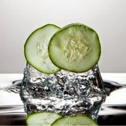 cucumbers fresh splash art poster
