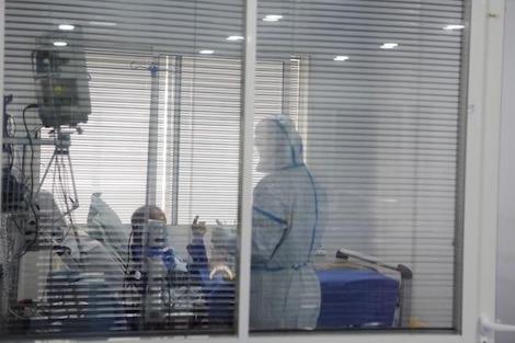 taroudant press :الحالات الحرجة ترفع أسِرّة الإنعاش في المشفى الميداني بالبيضاء