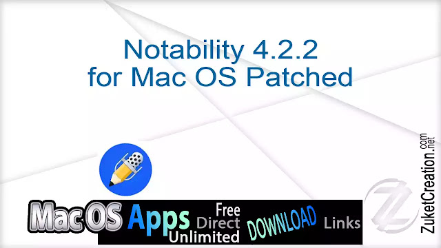 Notability 4.2.2 for Mac OS Patched