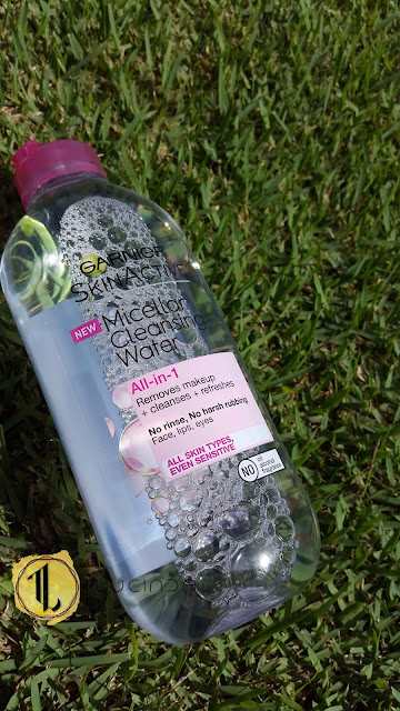 Garnier SkinActive Micellar Cleansing Water - www.modenmakeup.com