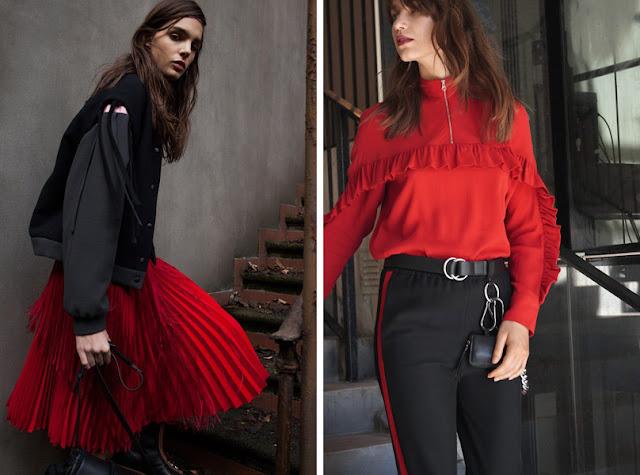 Красный + черный в одежде