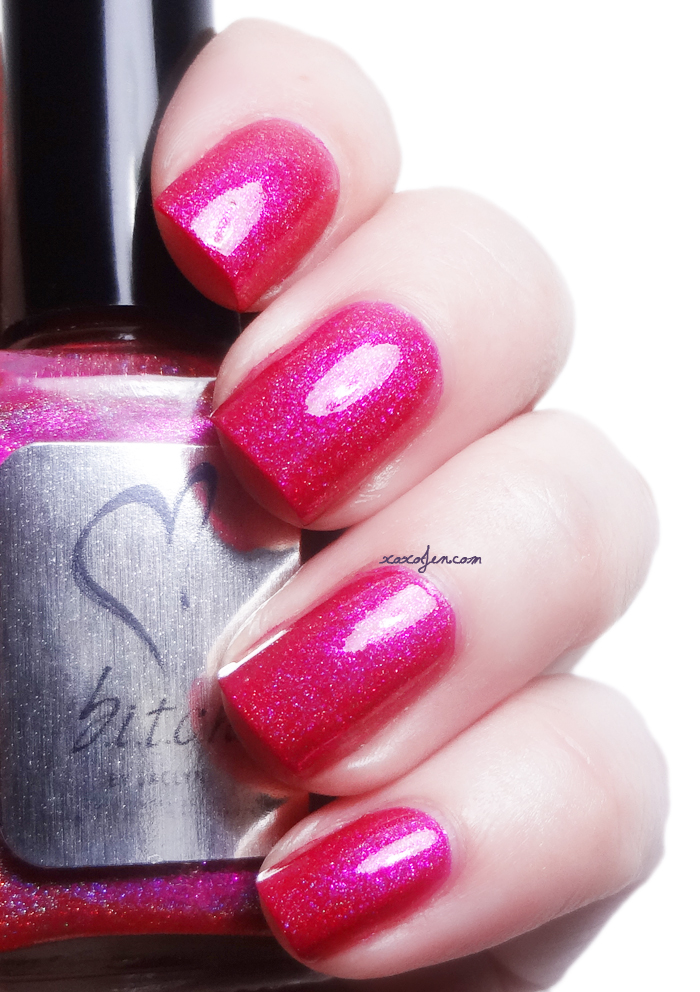 xoxoJen's swatch of b.i.t.c.h. by jaclyn Chic