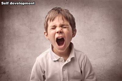 Dealing with the child's anger