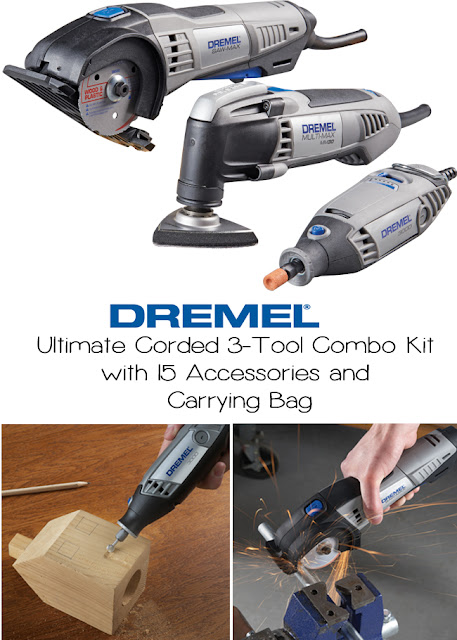 DREMEL Ultimate Corded 3-Tool Combo kit! #thdprospective