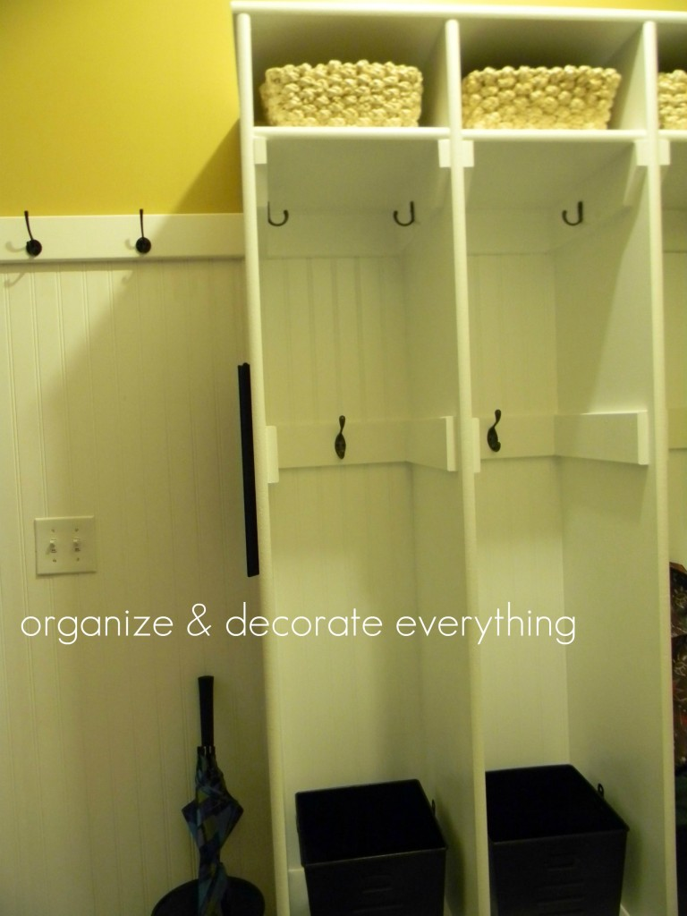 Organizing Ideas For The Weekend: Organized Entry Areas ...
