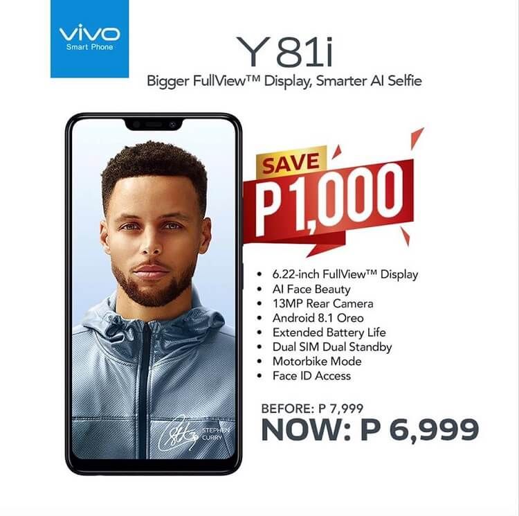 Vivo Y81i Receives a Price Drop