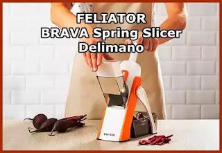 Feliator Brava Spring Slicer Delimano pareri forum opinii