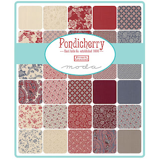 Moda Pondicherry Fabric by French General for Moda Fabrics