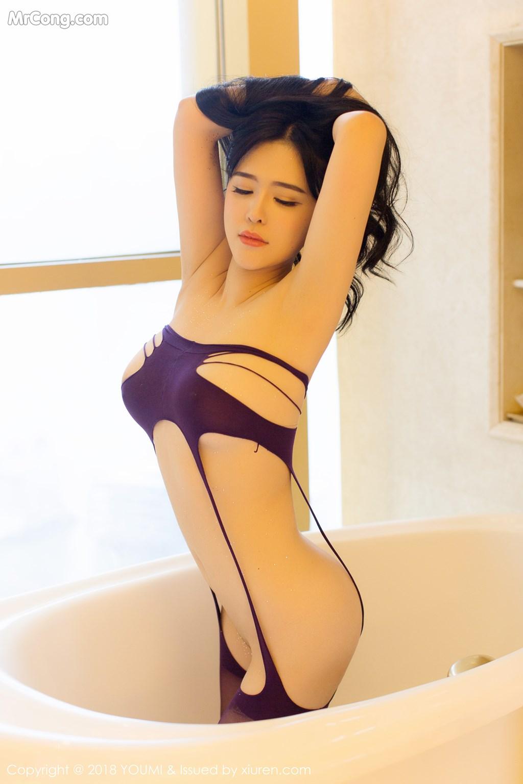 Image YouMi-Vol.124-Liu-Yu-Er-MrCong.com-023 in post YouMi Vol.124: Người mẫu Liu Yu Er (刘钰儿) (41 ảnh)