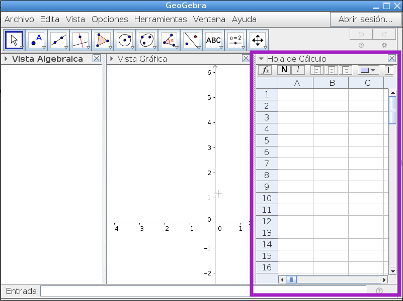 Graficar Lista de Puntos - Geometría Analítica con GeoGebra