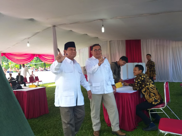 Hitung Cepat IDM Sudah 95 Persen Sampel Suara, Prabowo Unggul!
