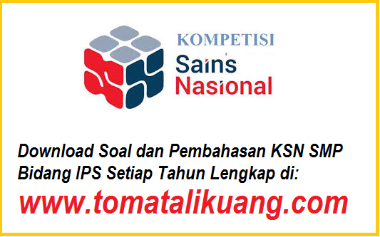 soal pembahasan ksn osn IPS smp tahun 2020 tomatalikuang.com