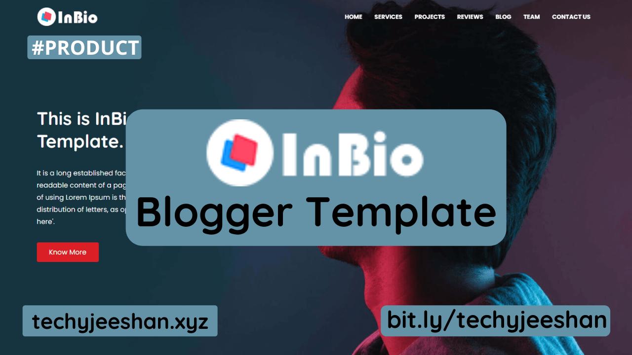 Inbio Blogger Template   Inbio Premium Blogger Theme Free Download