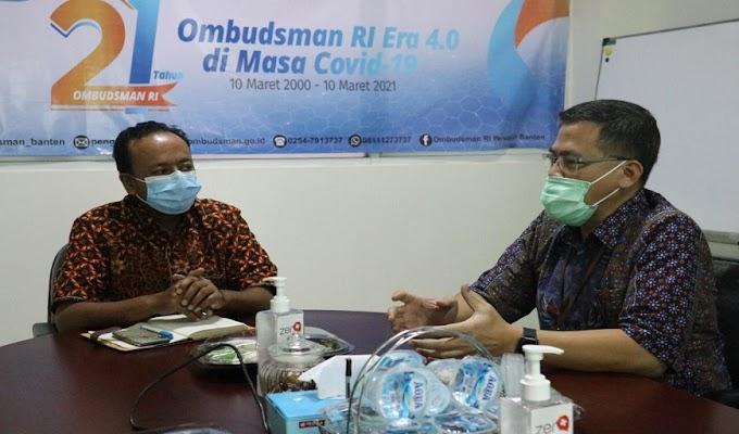 GM PLN UID Banten Sampaikan Progres Pulau Tunda ke Ombudsman RI Perwakilan Banten