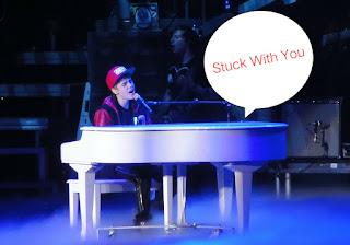 Lirik  dan Arti Stuck With You
