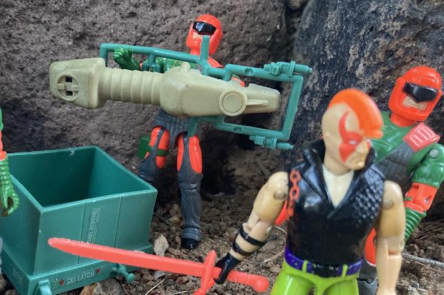 1984 Chameleon, 1993 Ninja Force Zartan, Flak Viper