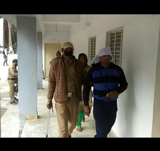 बड़ी खबर-वंदना हत्या कांड में शिक्षक पति सहित सास ससुर को राजस्व पुलिस ने भेजा जेल ।