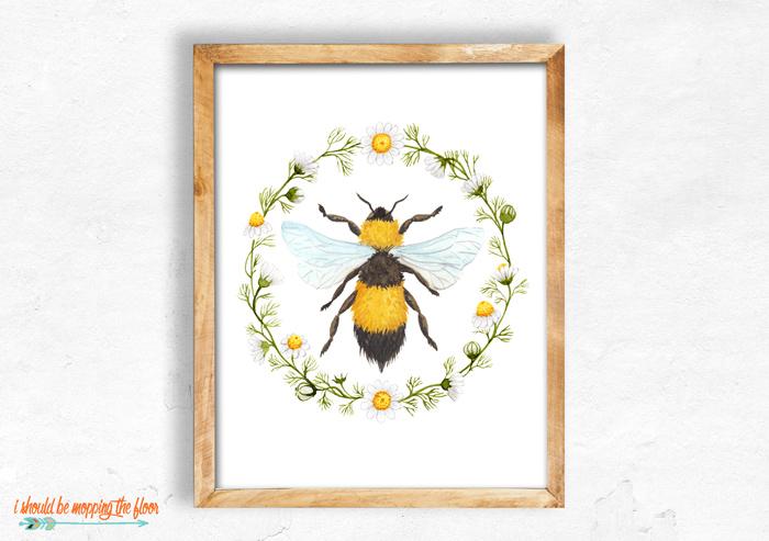 Bee Printable