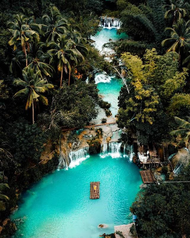 Cambugahay Falls Philippines Sumpah Lawa!