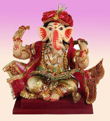 ganesh-dada-in-red-color-clothes