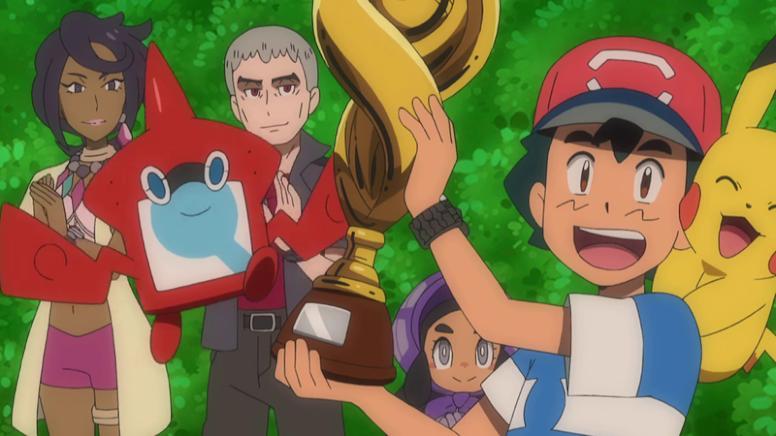Ash Campeão da Liga Alola