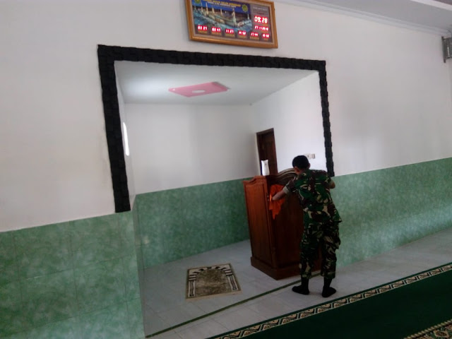 Silaturohmi Babinsa Dengan Muspika Kecamatan Manisrenggo