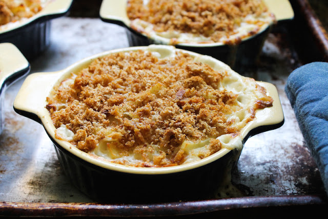 Food Lust People Love: Frestelse means temptation in Swedish so this wonderful dish is aptly named. It looks and smells SO GOOD. Made with potatoes, sliced onions, salty anchovies and a very generous amount of rich cream, Jansson's Frestelse - what I am calling Creamy Anchovy Potato Bake - is a traditional casserole that is a must-have at Christmas in its native Sweden, but it's also eaten year round there. Try it and you'll see why. It's too good to eat just once a year! If you are a fan of Dauphinoise potatoes, you are going to love their Swedish cousin.