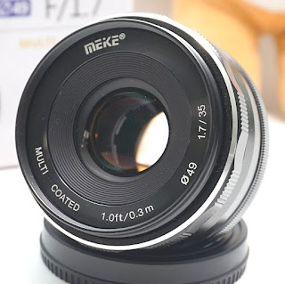 Lensa Meike 35mm f1.7 For Fujifilm Bekas