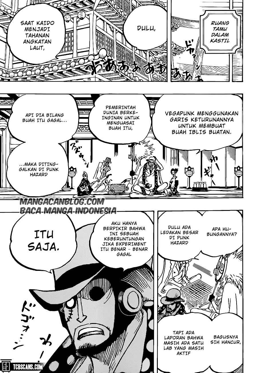 Manga One Piece Chapter 1007 Bahasa Indonesia