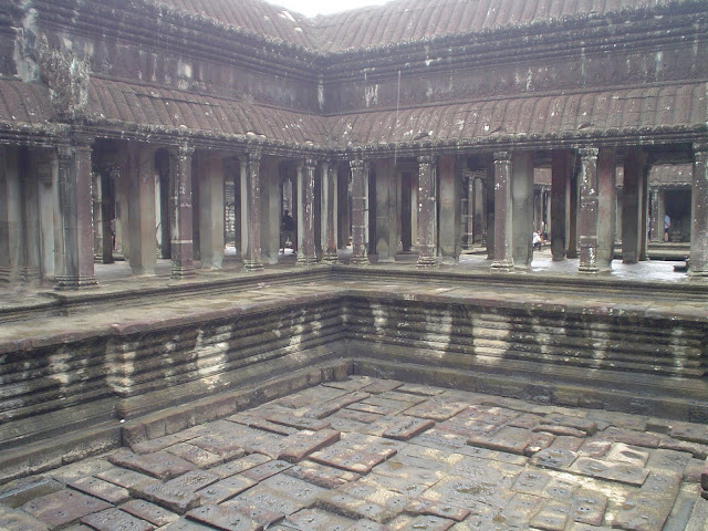 Temples d'Angkor Patio - Cambodge