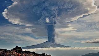 Erupción supervolcán Toba