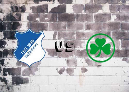 Hoffenheim vs Greuther Fürth  Resumen