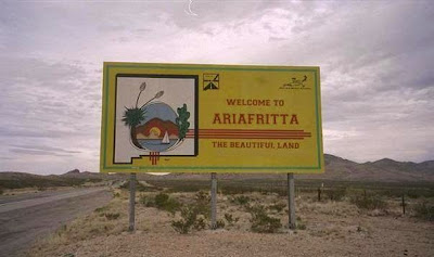 CARONIA, welcome to ARIA FRITTA, the beautiful land! -