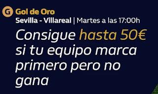 william hill promo Sevilla vs Villareal 29-12-2020