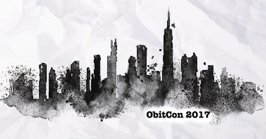 ObitCon 2017 is next month. Coming?
