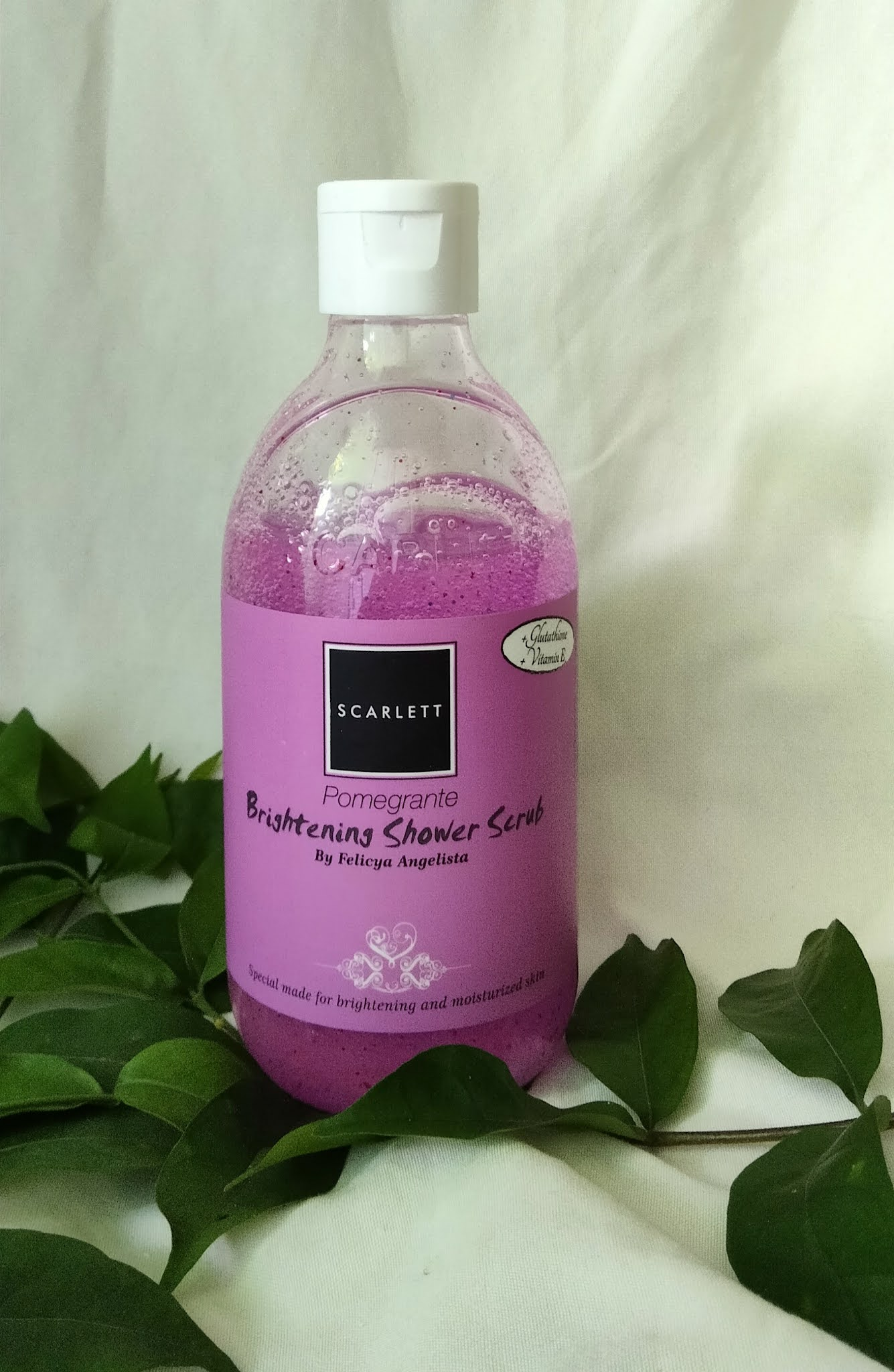 Shower Scrub Pomegrante