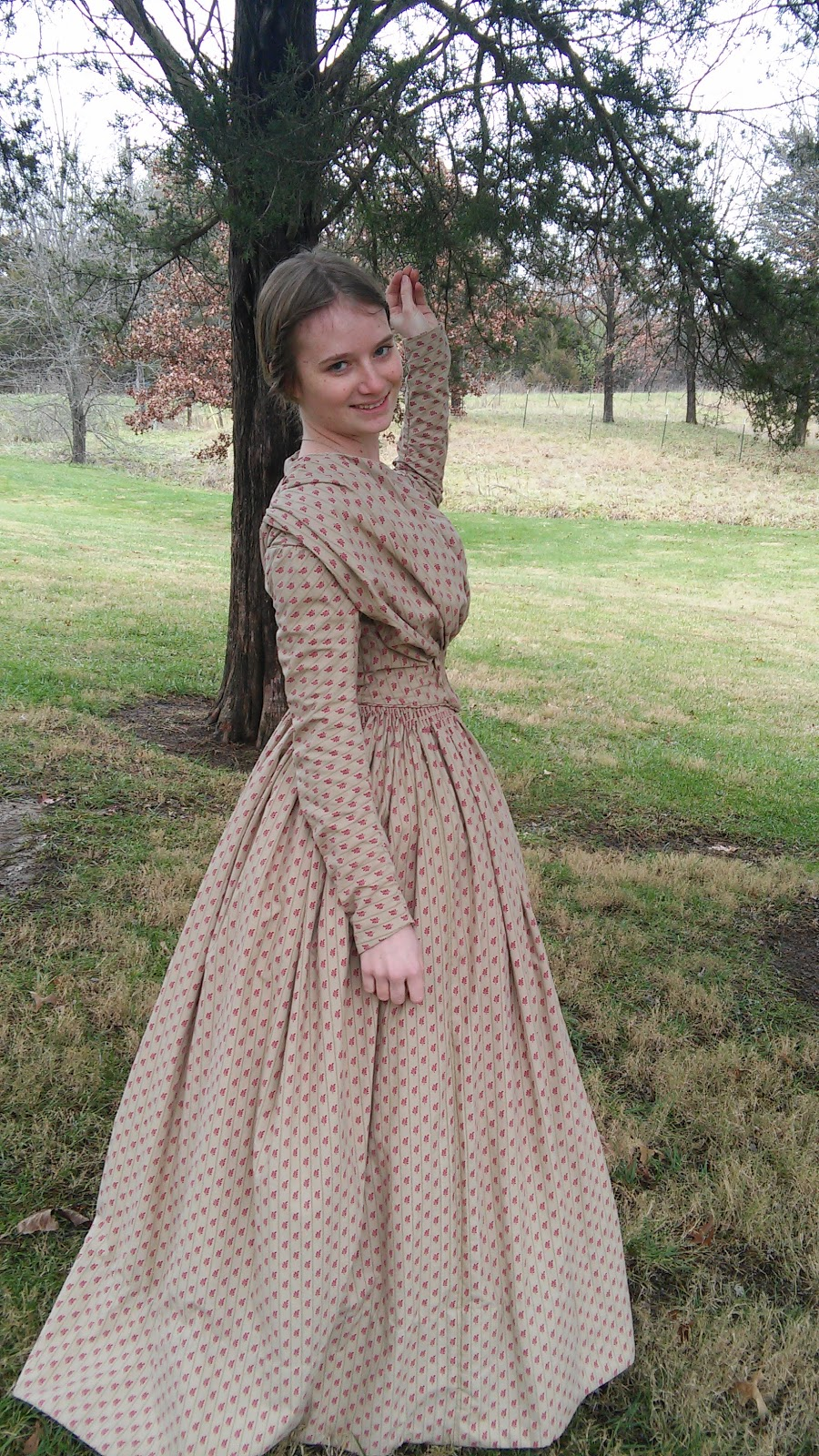 The Sewing Goatherd: The Completely Handsewn 1840's Dress