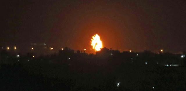 Balas Serangan Roket Hamas, Israel Bombardir Situs Pembuatan Senjata Di Jalur Gaza