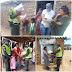 Policía acompaña entrega de ayudas en La Guajira