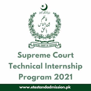 Supreme Court Technical Internship Program 2021