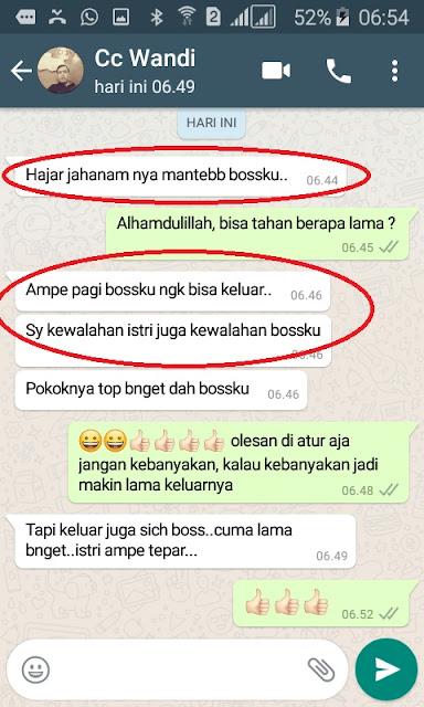 Obat Kuat Pria Oles Hajar Jahanam Asli KW Original