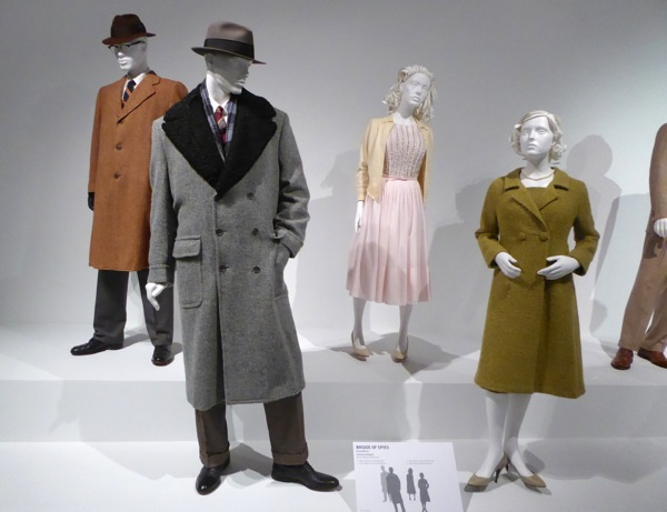 Bridge of Spies movie costumes
