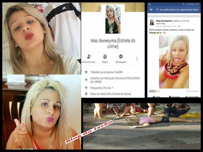 """""""Estrela do Crime"""" é assassinada com vários tiros na Praia do Meio e amigos prometem vingança"""