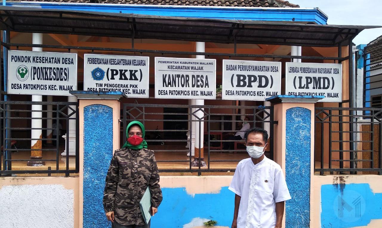 Turun Langsung Ke Desa, Tantri Bararoh Lakukan Monitoring Pelaksanaan  Penceghaan Covid-19
