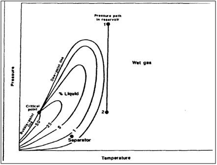 Mahasiswa minyak jenis reservoir diagram fasa wet gas yang umum ccuart Image collections