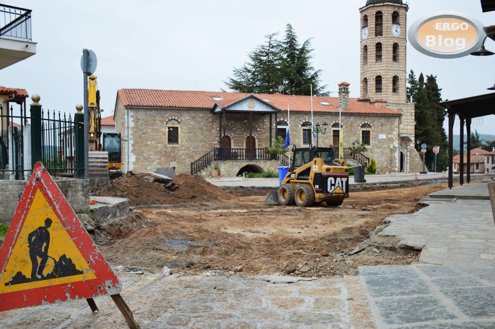 Ξεκίνησε και πάλι  η ανάπλαση της πλατείας Πατριάρχου Βαρθολομαίου 'Α (φωτο)
