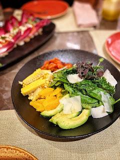 Corn & Avocado Salad, Wahaj, Hyatt Regency, Al Kout Mall