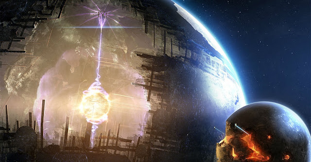 Artist's impression of a Dyson Sphere.