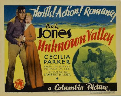 Unknown Valley (1933) Buck Jones Free streaming film
