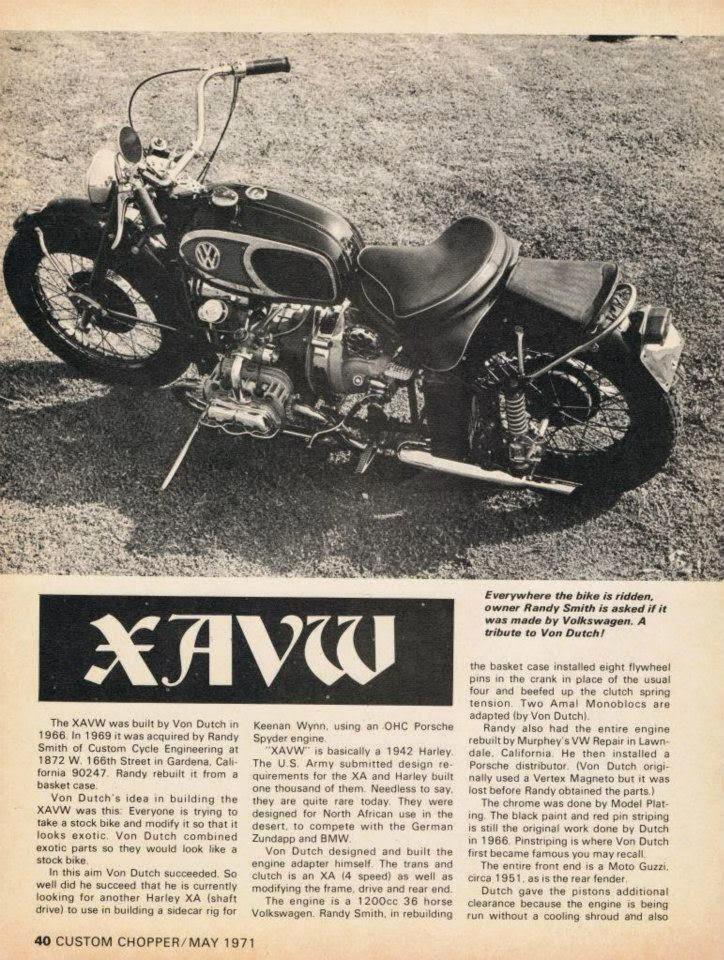 Mc Artmotorcycle Art Xavw Von Dutch Ed Roth Randy Smith